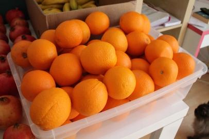 ...und Orangen mein Favourite neben der Banane