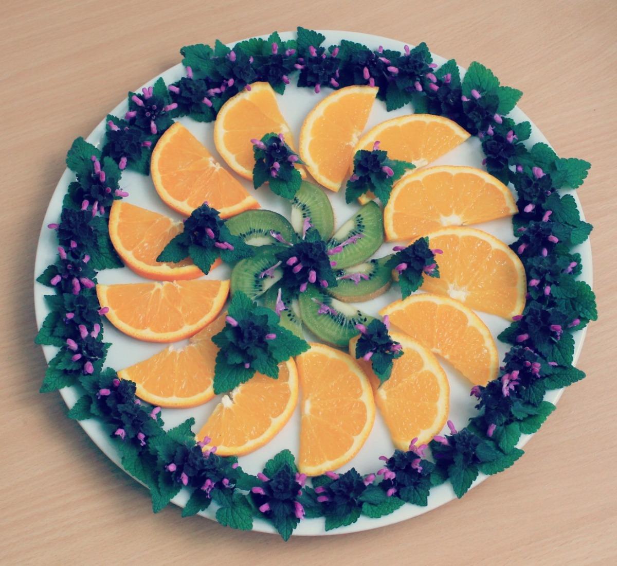 Die Orangennesselsonne